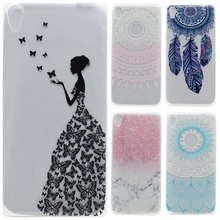 Buy Transparent Phone Cases sFor Fundas Sony Xperia XA Case Silicone Fresh Slim Soft Back Cover Sony Xperia XA Butterfly Girl for $1.18 in AliExpress store