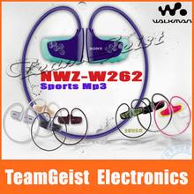 Brand New 100% Original NWZ-W262 2GB Mp3 Player Waterproof Stero Sports Headset Neckband in-ear earphone Wireless Headphone(China (Mainland))