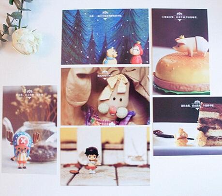 30pcs/New Vintage child-like series postcard set/ greeting card/wholesale<br><br>Aliexpress