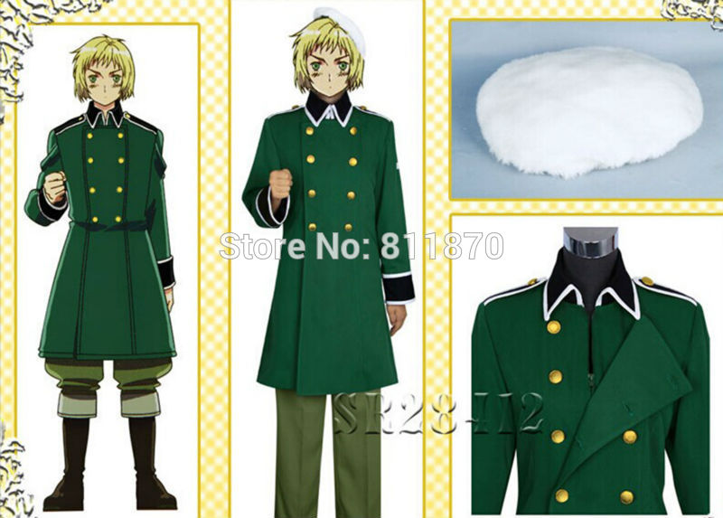 Axis Powers Hetalia APH Cosplay Switzerland Unisex Military Uniform Sailor Suits CostumeОдежда и ак�е��уары<br><br><br>Aliexpress