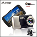 Dual Lens HD Night Vision Car DVR 4 0 Inches IPS Screen 1080P Dash Cam H