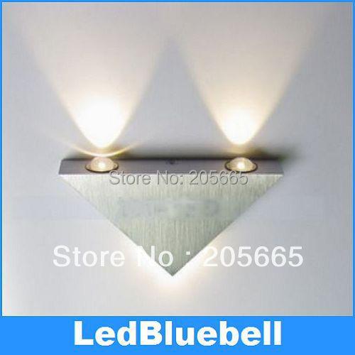 Wholesale (4pcs/lot) Modern minimalist Wall Lamps 2W High Power LED Spotlights Pure White /Warm White AC85~265V<br><br>Aliexpress