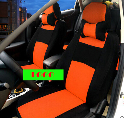 Universal Car Seat Covers For Dodge Ram Viagra BLACK/WHTIE car accessories car styling