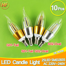 Buy 10pcs E14 LED Candle Bulb Golden Aluminum 9w 12w LED Light 220V Led Lamp Cool Warm White Lampada Bombillas Lumiere SMD 2835 COB for $10.12 in AliExpress store