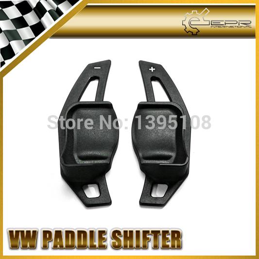 New Car Styling For VW Volkswagen Golf 6 MK6 VI CC GTI R20 Black Matte Aluminium Steering Wheel Paddle Shift Shifter Extension 2<br><br>Aliexpress