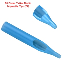 Buy Blue Tattoo Plastic Sterile tips 7R Tattoo Supply Plastic Disposable Tubes, Nozzles Needle Tubes 50 pcs /lot for $4.62 in AliExpress store