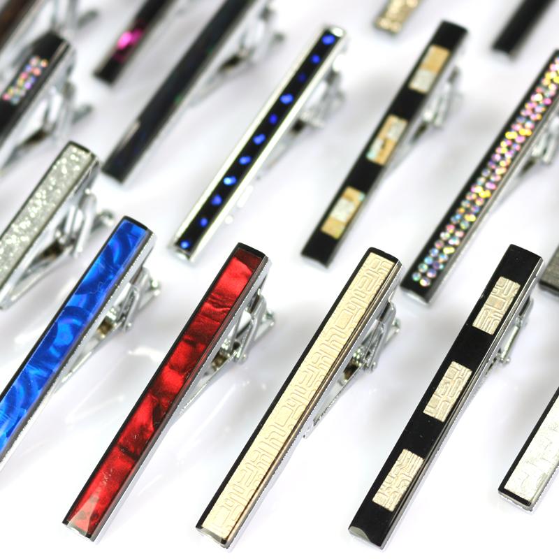 Enamel Men's Alloy Necktie Tie Clip Pin Wedding Suits Skinny Glossy Clasp Tie Bar Necktie Clips For Men Clothing Accessories(China (Mainland))