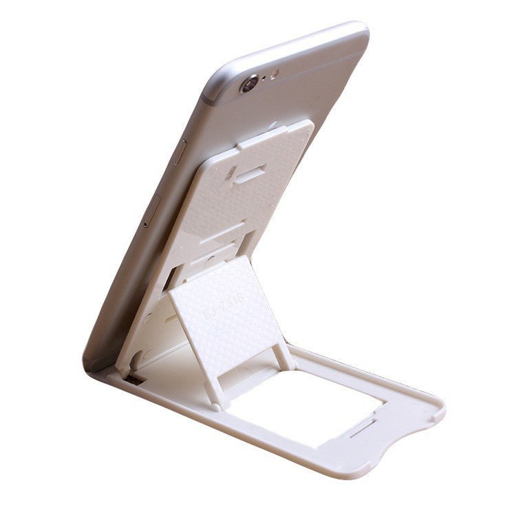 Hot sales Foldable Adjustable Stand Fashion Mobile Phone Mini Desk Station Plastic Holder For Iphone Samsung Smartphone ZJ1(China (Mainland))