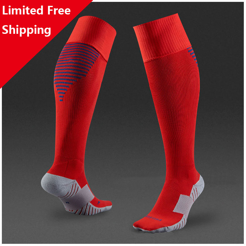 European Cup Country France Football Netherlands Portugal barreled knees slip bottom thick stocking England iceland soccer socks(China (Mainland))
