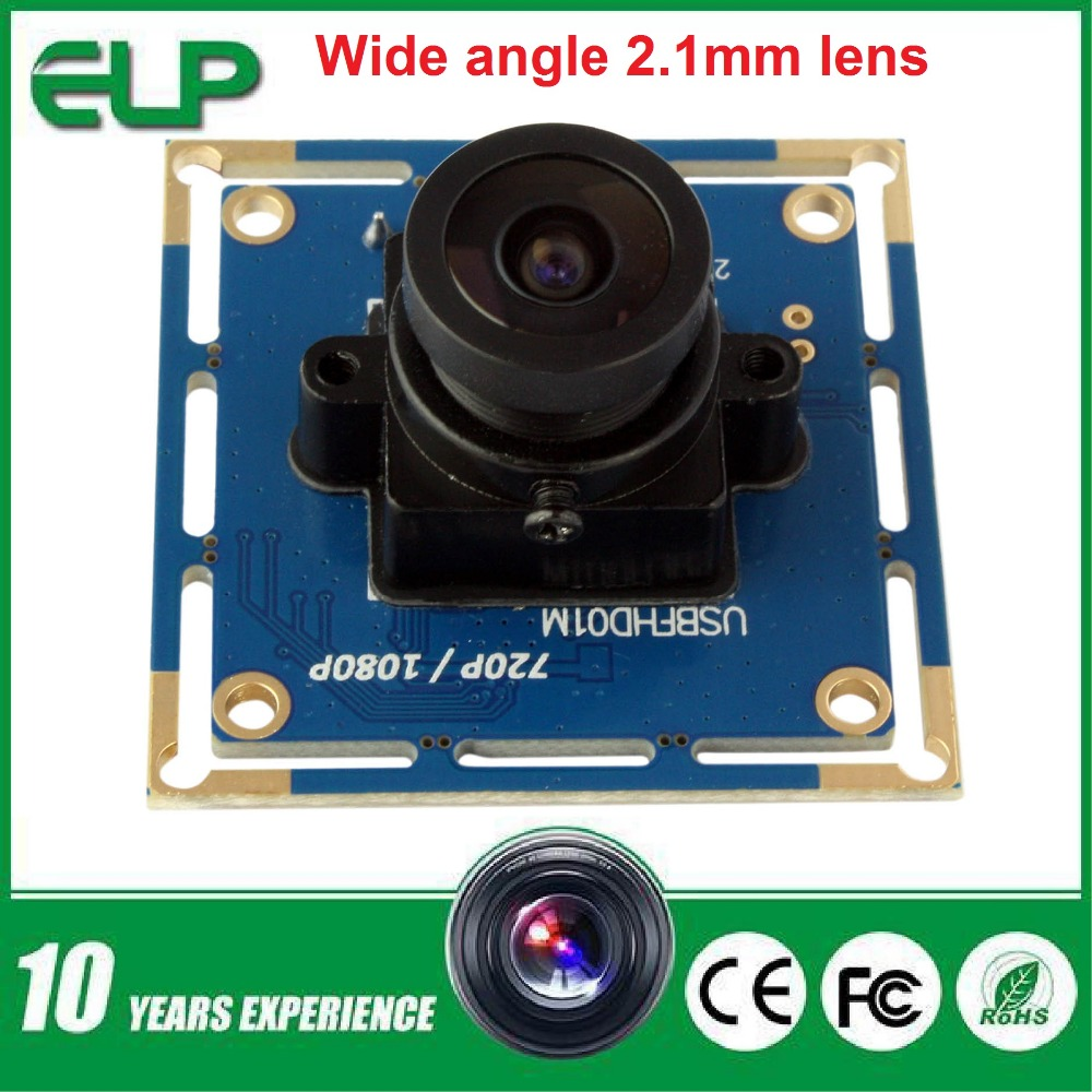 Free shippig 2MP full hd MJPEG 30fps/60fps/120fps high speed CMOS OV2710 Wide angle Mini CCTV Android Linux Usb Camera Module