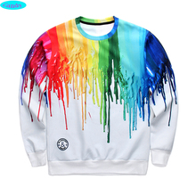 12-18years big kids brand sweatshirt boys youth fashion 3D Graffiti ink printed hoodies jogger sportwear teens unisex W20(China (Mainland))