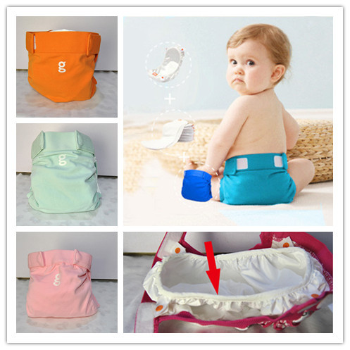 1PCS Reusable Baby Infant Nappy Cloth Diapers Soft Covers Baby Washable Cloth Diaper G Style Training Pants(China (Mainland))