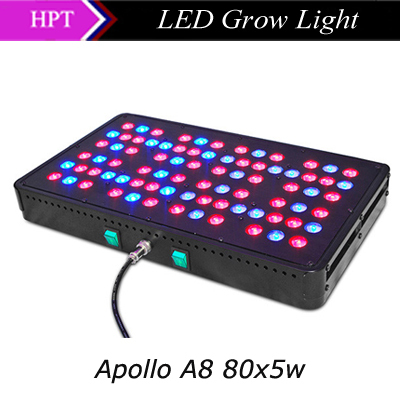 2015 New Design 5w led chip Apollo led grow light 400w grow lamp AC85-265V for indoor greenhouse plants Veg&Flower Free shipping(China (Mainland))