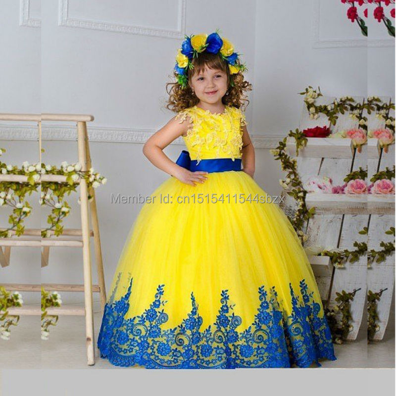 Gown Kids Yellow Imgkid Has