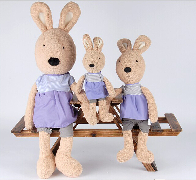 90  cm Le sucre with dress  plush toy lovely rabbit birthday gift for baby for grilfriend<br><br>Aliexpress