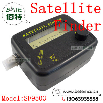 Factory directly sale~10pcs/lot SF9503 Satellite Signal Finder Meter For Sat Dish LNB DIRECTV Freeshipping Dropshipping