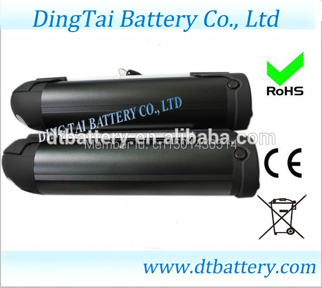battery+charger: bottle type 48v 10ah ebike battery pack with bms and load, aluminum alloy case(China (Mainland))