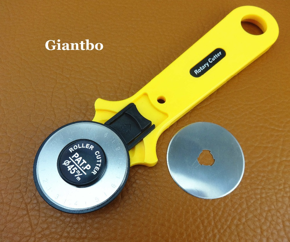 Rotary Cutter And Mat Drawing 45mm Rotary Cutter Blade