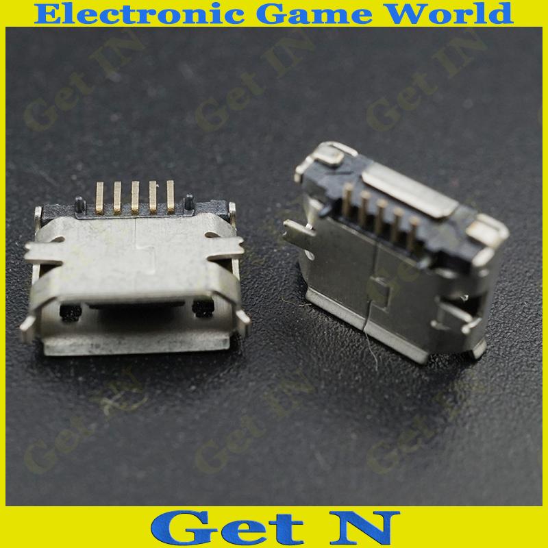 Здесь можно купить  2DIP SMD 7.2 Micro USB Connector Charging Jack for Tablet PC Mobile Phones 1000PCS/LOT  Электротехническое оборудование и материалы