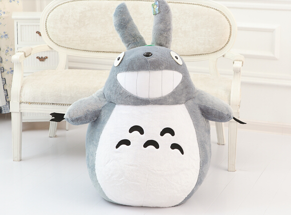 New totoro Stuffed Plush TOY 60CM OR 80CM SUPER BIG size movies TOY best price free shipping mty032(China (Mainland))