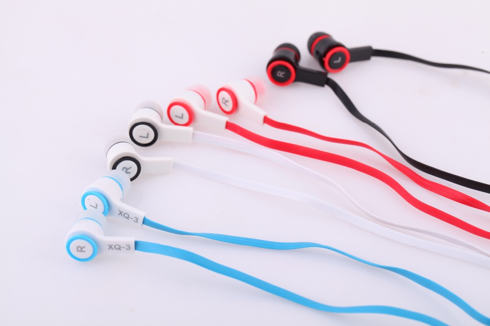 Simple Stylish Earphone font b Noise b font Isolating Wired 3 5mm In Ear Stereo Headphset