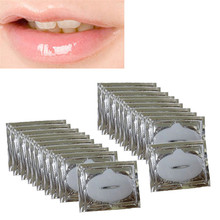 Sanwony New Arrival 20 Pcs Crystal Collagen Lip Mask For Lip Skin Care Freeshipping Hot(China (Mainland))
