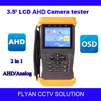 3.5 Inch LCD AHD Hybrid CCTV Tester Monitor &amp; AHD 720P/960H CCTV Tester &amp; Analog camera cctv tester HD hybrid cctv camera tester<br><br>Aliexpress