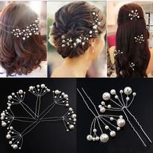 Buy 5Pcs Simulate Pearl Hairpins Hairstyles Wedding Bridal Hair Pins Hair Jewelry Accessories Hairwear Girls Hair Clips Women for $1.29 in AliExpress store