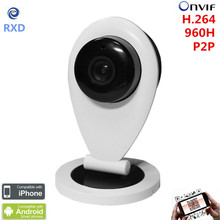 Cheapest Home Smart IP Camera WIFI HD IR SD Card  Wireless IP Camera 720P Onvif P2P For Android iOS PC Mini Baby Monitor