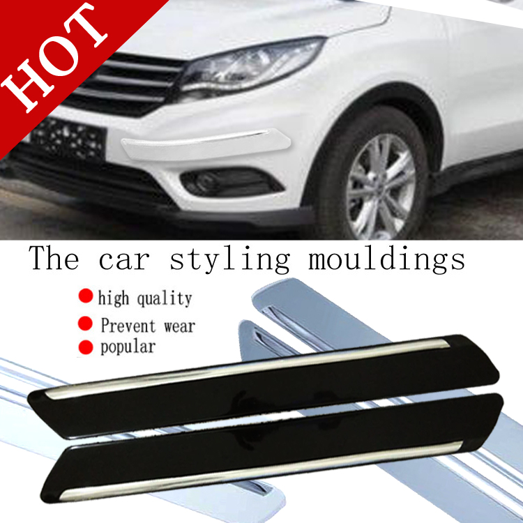 Car Anti-collision Strip Bumper Protector Car Crash Bar Anti-rub Bar Retail Bumper Crash Styling Mouldings rubber bumper strip