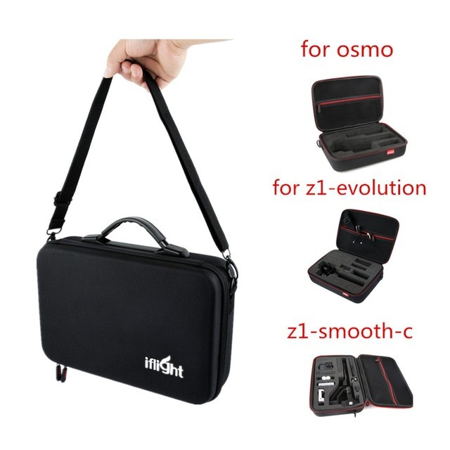 iFlight Eva Storage Carry Case Bag/Portable bag osmo case For DJI OSMO 4K Camera gimbal stabilizer Battery,Charger& Accessories