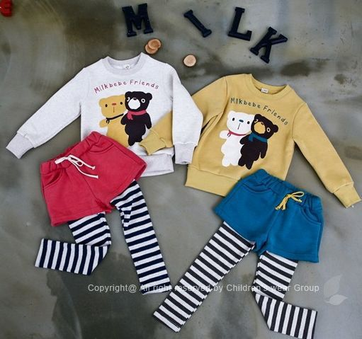 Free shipping NEW styles 5sets/lot fashion children cotton sets,boys&girls autumn cartoon suits,kids garments for kids,kids sets(China (Mainland))