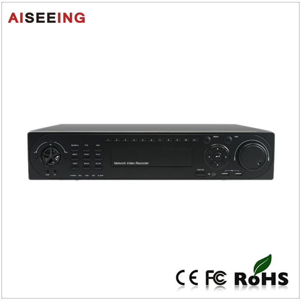 Linux System 1080P P2P/3G/WiFi function support h.264 8 HDD, max 32TB 25CH NVR(China (Mainland))