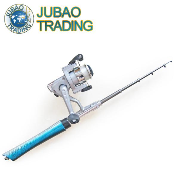 1.6M Mini Fishing Rod Pocket Telescopic Pen Shape Ice Winter Rod with Reel and Line,Free shipping vara de pesca.(China (Mainland))