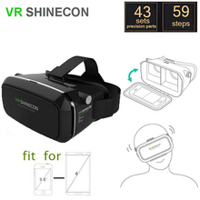 10pcs/lot VR Shinecon Virtual Reality 3D Glasses