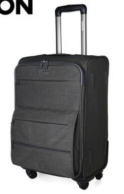 "Free shipping quality universal wheel trolley luggage nylon travel bag commerical luggage waterproof suitcase24""(China (Mainland))"