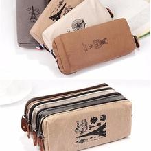 Paris Beauty Cosmetic / MakeUp Bag / Pencil Pen Case / Pouch 4 Colors Choosing(China (Mainland))