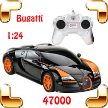 Горячая распродажа Rastar 1/24 Bugatti Veyron RC автомобиль король дороге модель гоночный Voiture авто автомобиль с коробкой цвета лучший подарок подарить