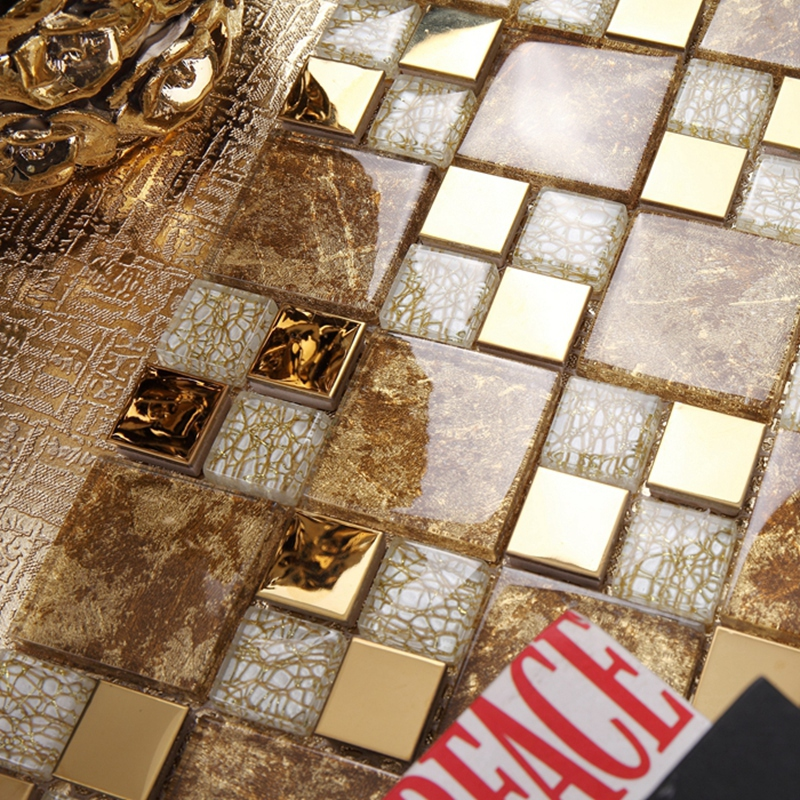 Discount mosaic tile backsplash