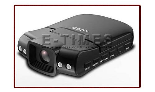 Card Video Recorder Night Vision 720P HD Car DVR With 2.5 inch TFT LCD Screen