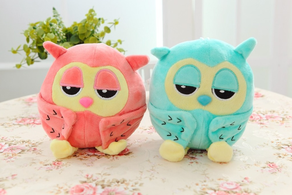 18cm cute the owl toys juguetes brinquedos soft plush stuff toys for baby or kids the wedding children gifts hot sale(China (Mainland))