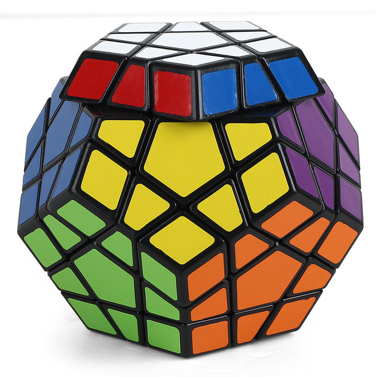 Neocube Puzzle Magic Cube New Year 2015 Christmas Megaminx Plastic Cubo Magico Training Magnetic Ball Hot Sale Free Shipping(China (Mainland))