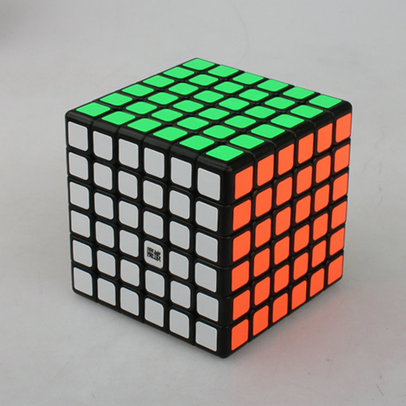 Brand New YJ&Moyu AoShi 69 mm 6x6x6 Magic Cube Cool Style Professional Speed Puzzle Cubo Magico Educational Toys Special Gifts(China (Mainland))