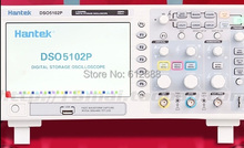 "Free shipping Hantek DSO5102P Digital storage oscilloscope 100MHz 2Channels 1GSa/s 7"" TFT LCD better than ADS1102CAL+"