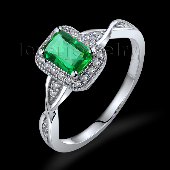 2015 new designs emerald ring wed emerald