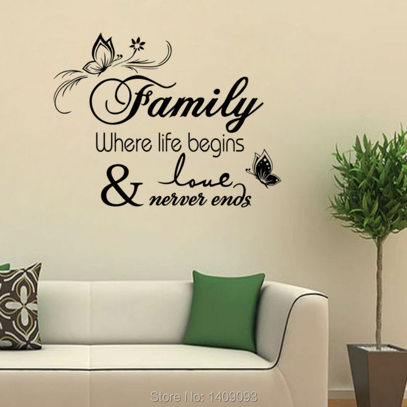 Bedroom Wall Quotes Living Room Decals Vinyl Stickers With Details About Decal Quote Sticker