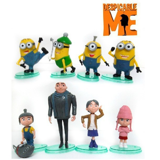 8psc/set Sale Baby Kid Child Classic Despicable Me 2 Anime ...