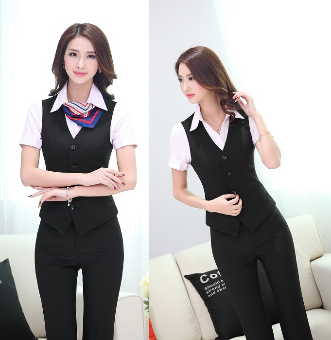 Suits Vest Pants Women