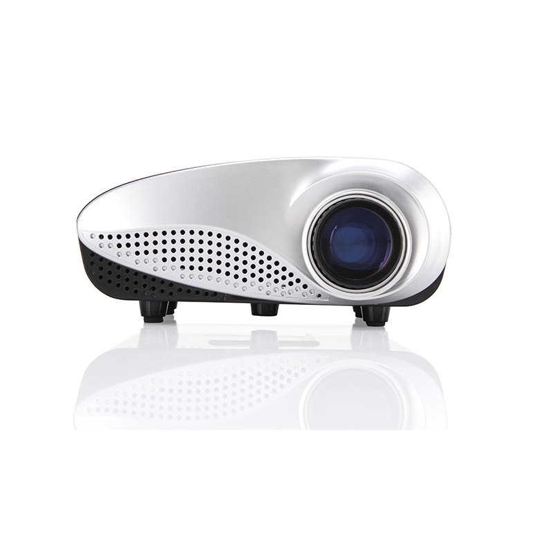 Rigal RD-802 Multi-media Mini 120 Lumens Portable LED Projection Micro Home Theater Projector<br><br>Aliexpress