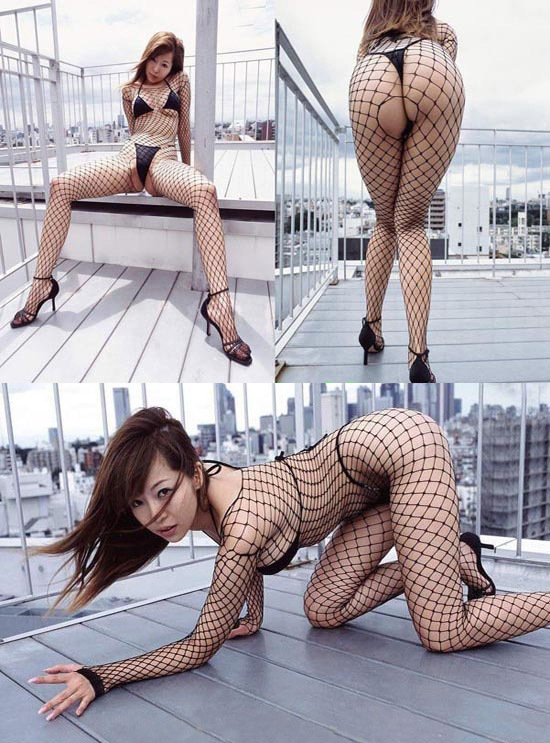 Hot Sale 2014 Porn Sexy Women's Black Large Fishnet Open Crotch Body Stockings Net Sleeves One Size Sexy Lingerie Bodystockings(China (Mainland))